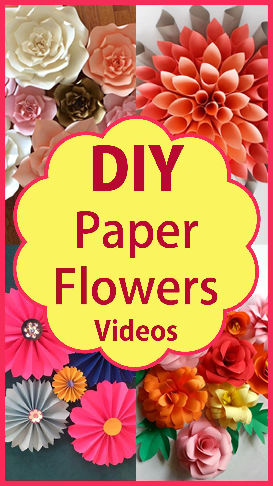Diy Paper Flowers Paper Craft Step By Step For Android Apk Download