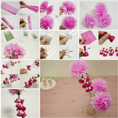 DIY Paper New Flower icon