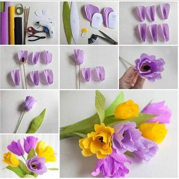 DIY Paper New Flower poster