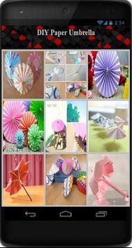 DIY Paper Umbrella poster