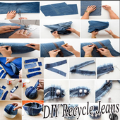DIY Recycle Jeans icon
