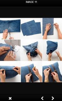 DIY Recycle Jeans screenshot 5
