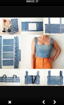 DIY Recycle Jeans screenshot 6