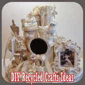 DIY Recycled Crafts Ideas icon