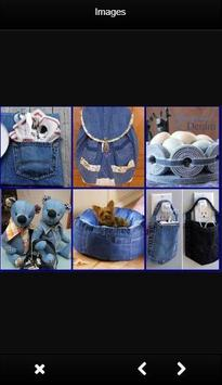 DIY Recycled Jeans Craft screenshot 1