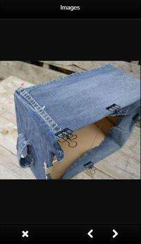 DIY Recycled Jeans Craft screenshot 2