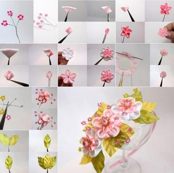 DIY ribbon craft Tutorial screenshot 5