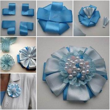 DIY ribbon craft Tutorial screenshot 1