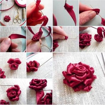 DIY ribbon craft Tutorial screenshot 2