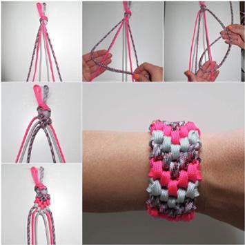 DIY Tutorial Bracelet poster