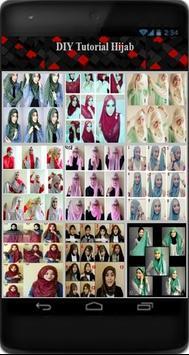 DIY Tutorial Hijab poster