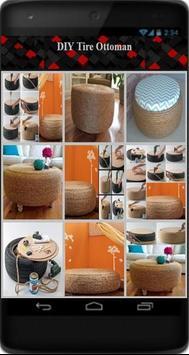 DIY Tire Ottoman poster