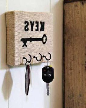 DIY Unique Key Holder poster