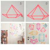 DIY Washi Tape Wall icon
