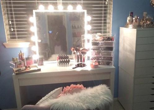 DIY makeup table apk screenshot
