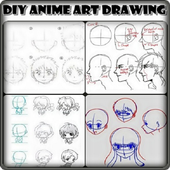 DIY Anime Art Drawing icon