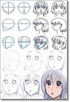 DIY Anime Art Drawing screenshot 1