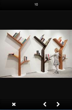 Bookshelf Design Ideas screenshot 6