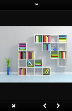 Bookshelf Design Ideas screenshot 2