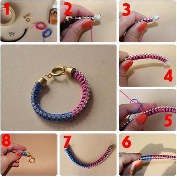 DIY Bracelet Idea screenshot 4