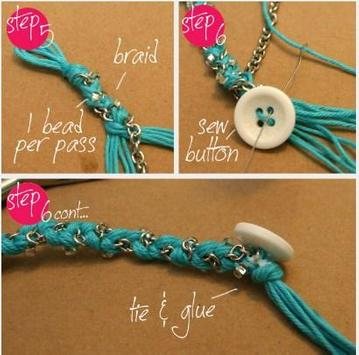 DIY Bracelet Idea screenshot 10