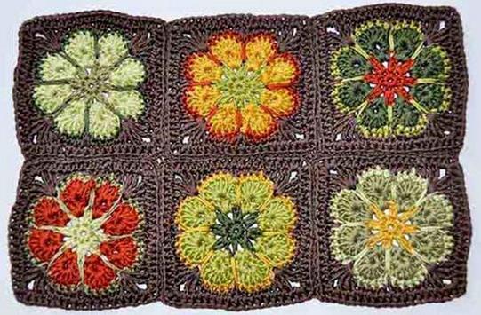 crochet mats rugs patterns screenshot 16
