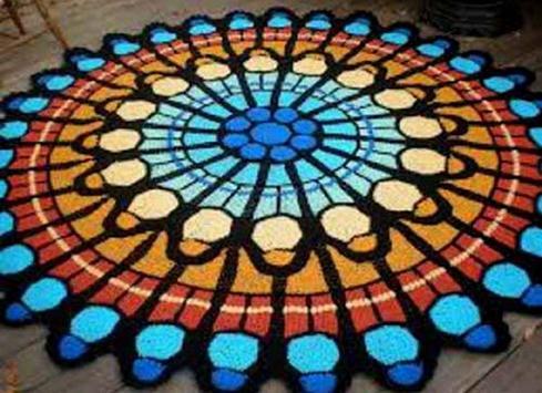crochet mats rugs patterns screenshot 19