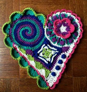 crochet mats rugs patterns screenshot 1