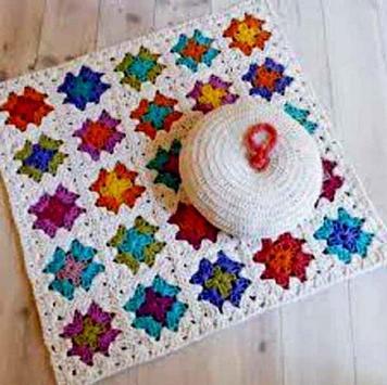 crochet mats rugs patterns screenshot 6