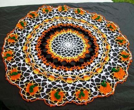crochet mats rugs patterns screenshot 8