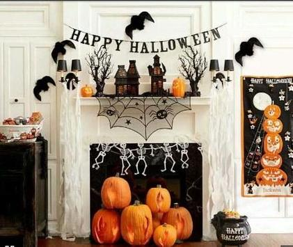 DIY halloween decorating poster