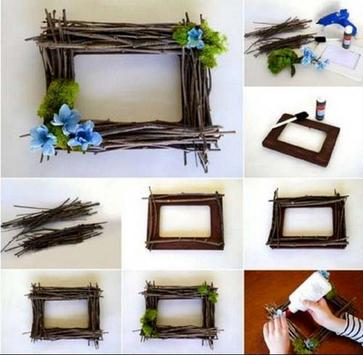 photo frame making recycled ideas screenshot 15