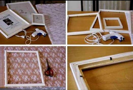 photo frame making recycled ideas screenshot 1