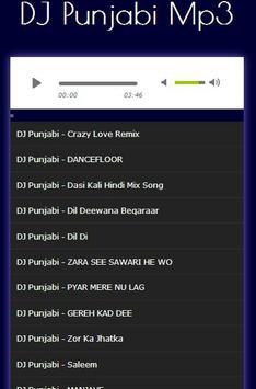 DJ Punjabi - English Remix Songs Mp3 screenshot 1