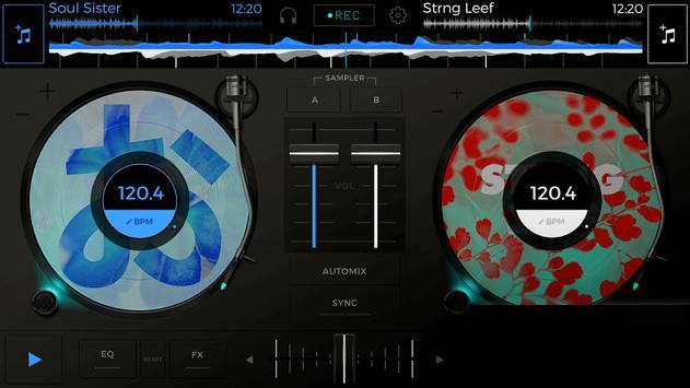 Android DJ Free - Mix your music apk screenshot
