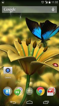 Lily HD Free 3D Live Wallpaper poster