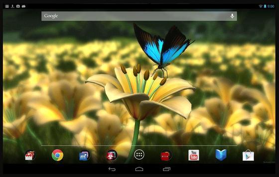 Lily HD Free 3D Live Wallpaper screenshot 1