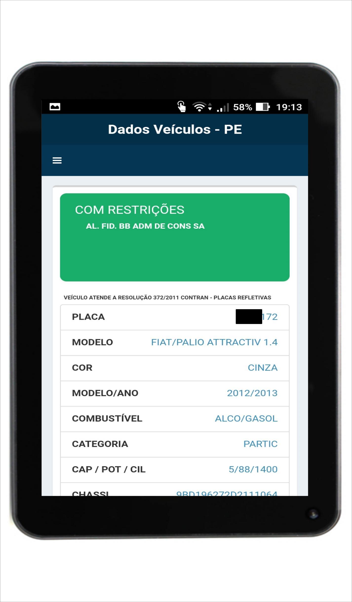 Detran PE - Consulta Veículos para Android - APK Baixar