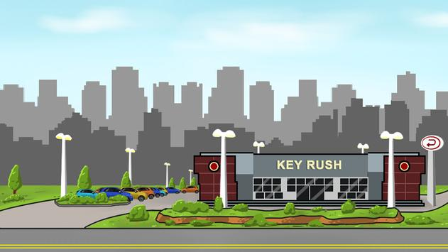 Key Rush poster