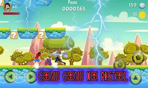 Luffy Pirate Adventure Go Run screenshot 1