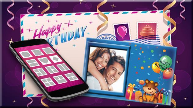 Birthday Photo Frames screenshot 1