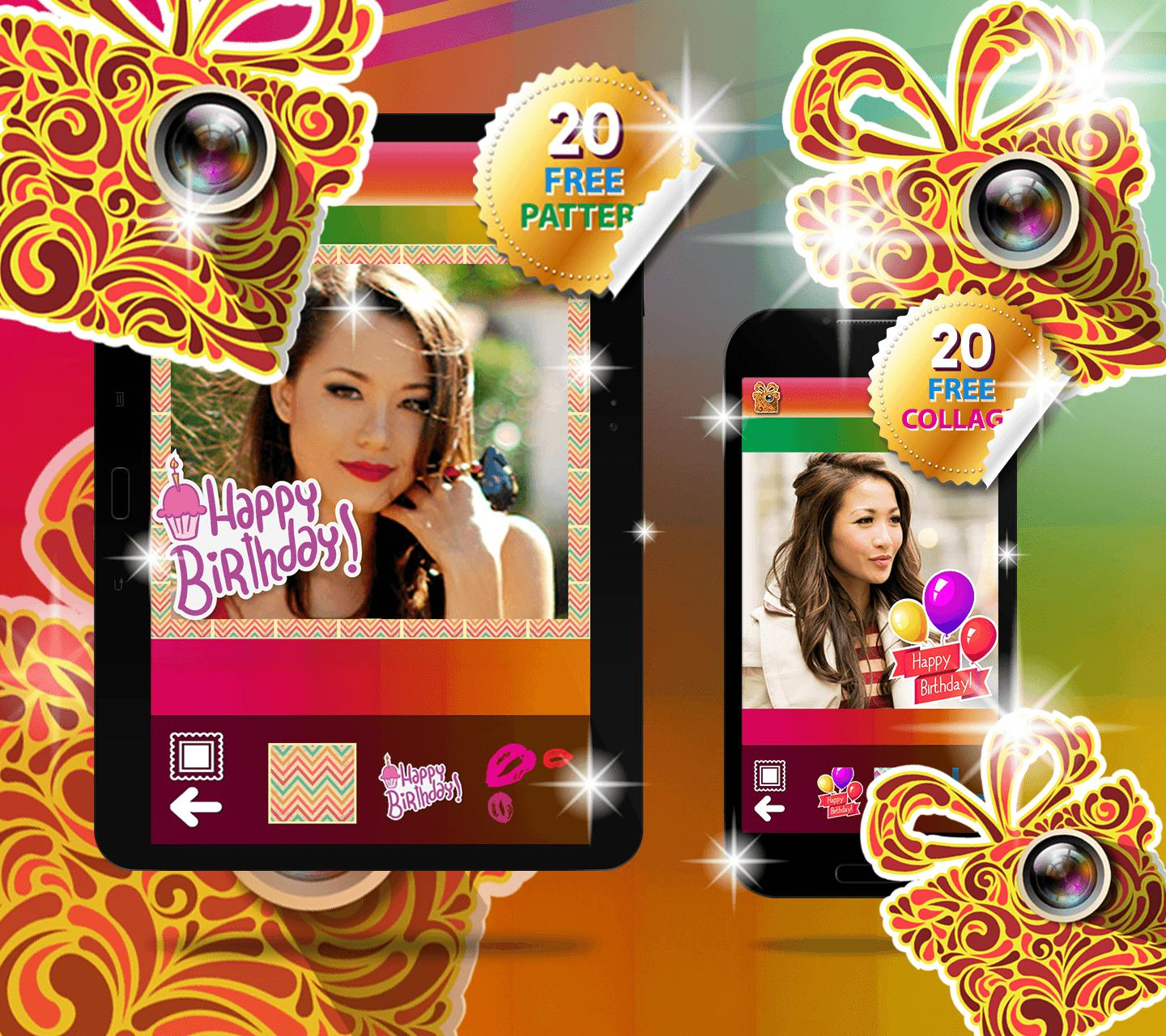 Happy Birthday Collage Maker For Android