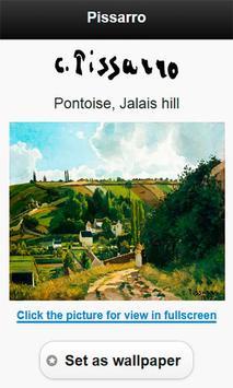 Famous paintings Pissarro art screenshot 4