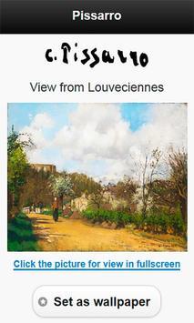 Famous paintings Pissarro art screenshot 5