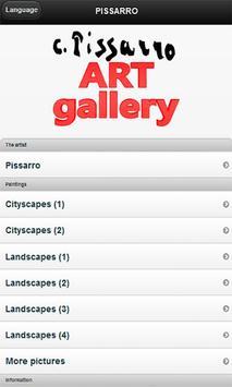 Famous paintings Pissarro art poster