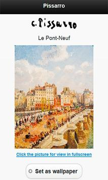 Famous paintings Pissarro art screenshot 1