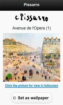 Famous paintings Pissarro art screenshot 2