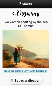 Famous paintings Pissarro art screenshot 3