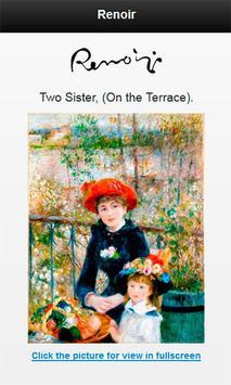 Famous paintings Renoir artist screenshot 3