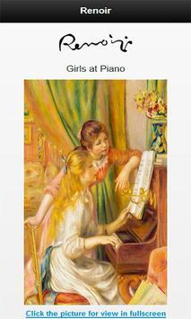 Famous paintings Renoir artist screenshot 1